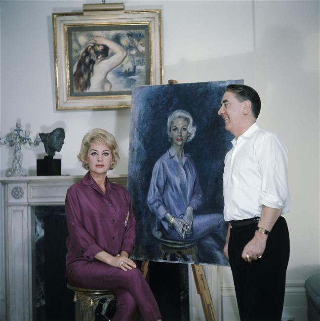 Avec un peintre.