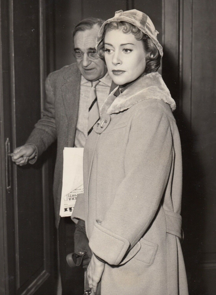 Martine Carol et Charles Vanel